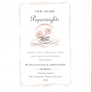 Old Glass Paperweights PreRelease