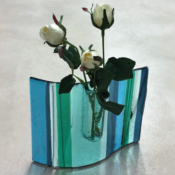 Curved Pocket Vase