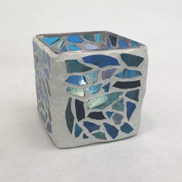 mosaic candle votive 1